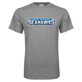 Grey T Shirt-Keiser University Seahawks