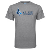 Grey T Shirt-Institutional Logo