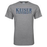 Grey T Shirt-University Wordmark