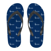 Full Color Flip Flops-Institutional Logo