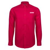 Red House Red Long Sleeve Shirt-Keiser University Seahawks