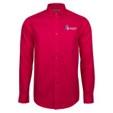 Red House Red Long Sleeve Shirt-Institutional Logo