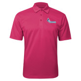 Pink Raspberry Silk Touch Performance Polo-Primary Logo
