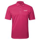 Pink Raspberry Silk Touch Performance Polo-University Wordmark