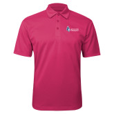 Pink Raspberry Silk Touch Performance Polo-Institutional Logo