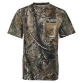 Realtree Camo T Shirt w/Pocket-University Wordmark