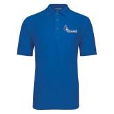 True Blue Easycare Pique Polo-Primary Logo