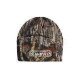 Mossy Oak Camo Fleece Beanie-Keiser University Seahawks