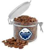Almond Bliss Round Canister-Institutional Logo