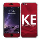 iPhone 6 Skin-KE Kappa Epsilon Stacked