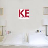 1 ft x 1 ft Fan WallSkinz-KE Kappa Epsilon Stacked