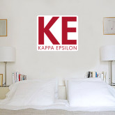 3 ft x 3 ft Fan WallSkinz-KE Kappa Epsilon Stacked