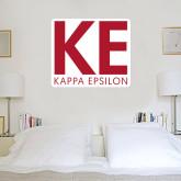 4 ft x 4 ft Fan WallSkinz-KE Kappa Epsilon Stacked