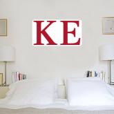 4 ft x 4 ft Fan WallSkinz-One Color Greek Letters