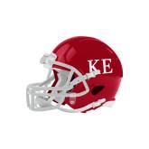 Riddell Replica Cardinal Mini Helmet-One Color Greek Letters