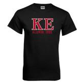 Black T Shirt-Greek Letters Alumni Year Personalized