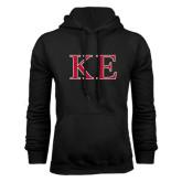 Black Fleece Hoodie-Two Color Greek Letters