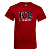 Cardinal T Shirt-Greek Letters Alumni Year Personalized
