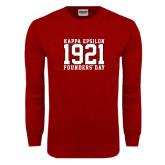 Cardinal Long Sleeve T Shirt-Founders Day Jersey