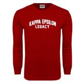 Cardinal Long Sleeve T Shirt-Legacy