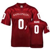 Replica Cardinal Adult Football Jersey-Personalized
