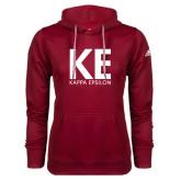 Adidas Climawarm Cardinal Team Issue Hoodie-KE Kappa Epsilon Stacked