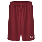 Performance Classic Cardinal 9 Inch Short-One Color Greek Letters