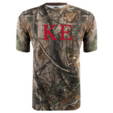 Realtree Camo T Shirt-One Color Greek Letters