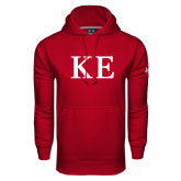 Under Armour Cardinal Performance Sweats Team Hoodie-One Color Greek Letters