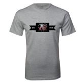 Grey T Shirt-100 Years Logo