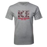 Grey T Shirt-KE Roses