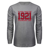 Grey Long Sleeve T Shirt-Founders Day Jersey