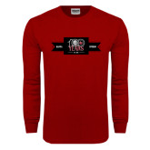 Cardinal Long Sleeve T Shirt-100 Years Logo