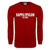 Cardinal Long Sleeve T Shirt-Est Year