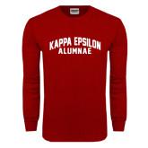Cardinal Long Sleeve T Shirt-Alumnae