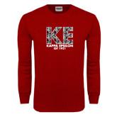 Cardinal Long Sleeve T Shirt-KE Roses