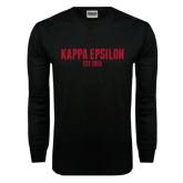 Black Long Sleeve T Shirt-Est Year