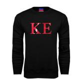 Black Fleece Crew-Greek Letters Foil