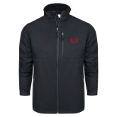 Columbia Ascender Softshell Black Jacket-One Color Greek Letters