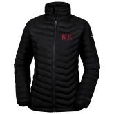 Columbia Lake 22 Ladies Black Jacket-One Color Greek Letters