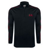 Nike Golf Dri Fit 1/2 Zip Black/Red Pullover-One Color Greek Letters
