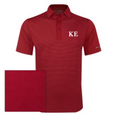 Columbia Red Omni Wick Sunday Golf Polo-One Color Greek Letters