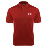 Cardinal Dry Mesh Polo-One Color Greek Letters
