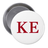 2.25 inch Round Button-One Color Greek Letters