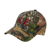 Mossy Oak Camo Structured Cap-One Color Greek Letters