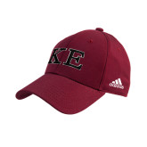 Adidas Cardinal Structured Adjustable Hat-Two Color Greek Letters