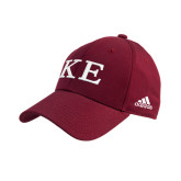Adidas Cardinal Structured Adjustable Hat-One Color Greek Letters