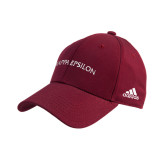 Adidas Cardinal Structured Adjustable Hat-Arched Kappa Epsilon