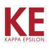 Large Magnet-KE Kappa Epsilon Stacked, 12in Tall