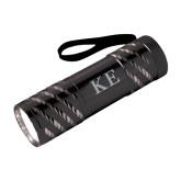 Astro Black Flashlight-Greek Letters Engraved